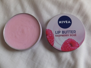 Nivea Lip Butter in Raspberry Rose - £1.50 at Superdrug